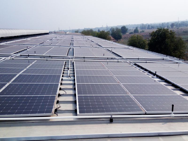 108KWP ROOFTOP GRID TIED SOLAR SYSTEM
