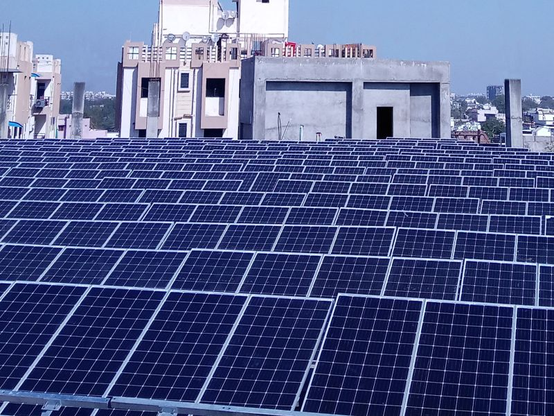 150KWP ROOFTOP GRID TIED SOLAR SYSTEM